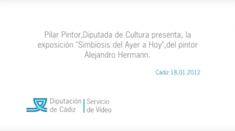 """Pilar Pintor presenta, la exposición """"simbiosis del Ayer a Hoy"""",de Alejandro Hermann"""