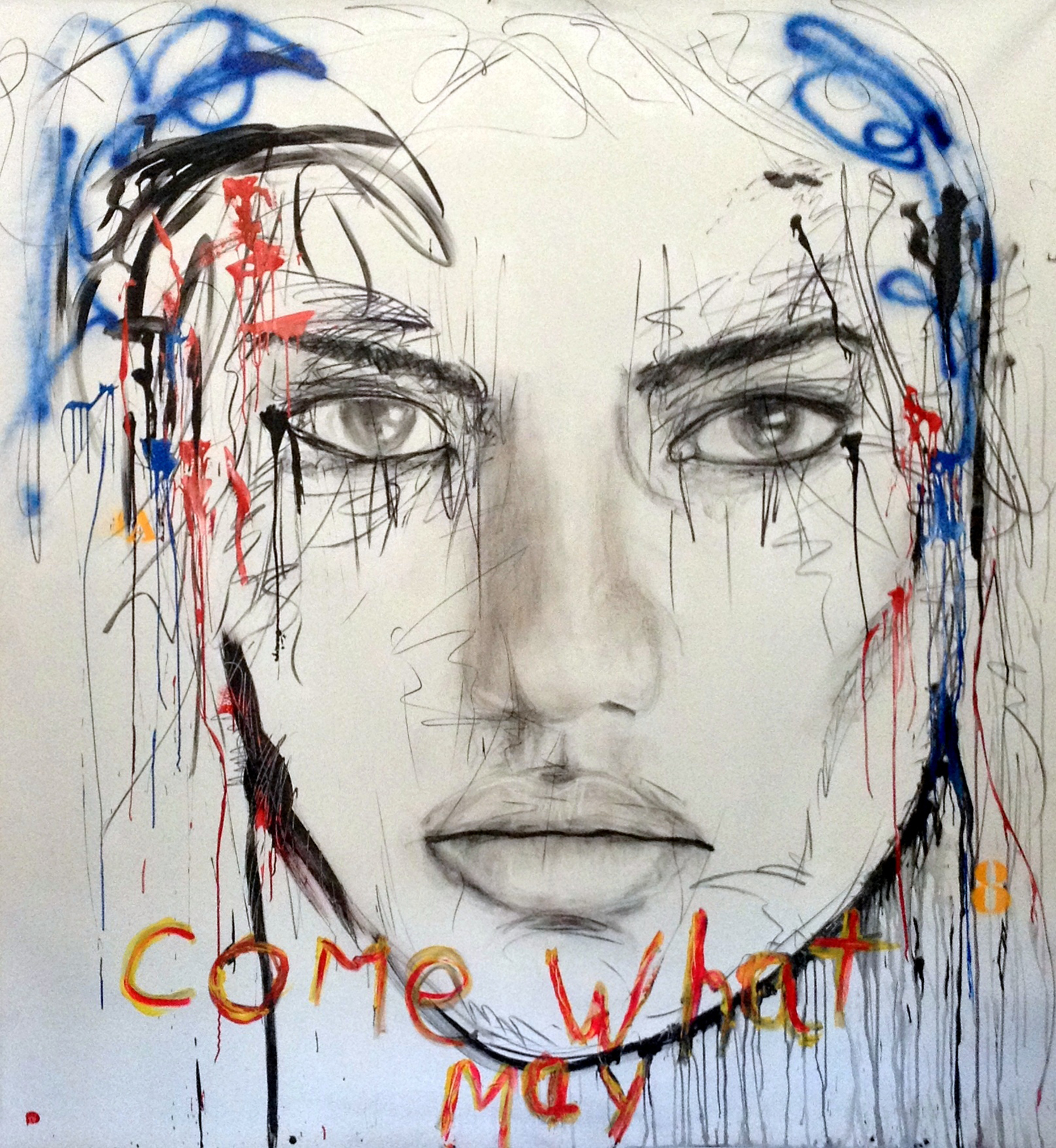 COME WHAT MAY / 210x215cm