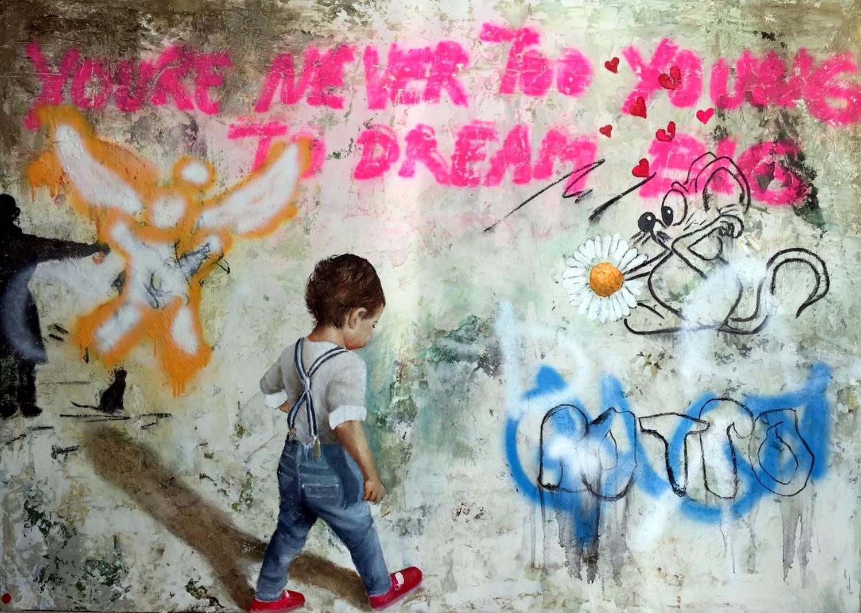 DREAM BIG / 170x120cm