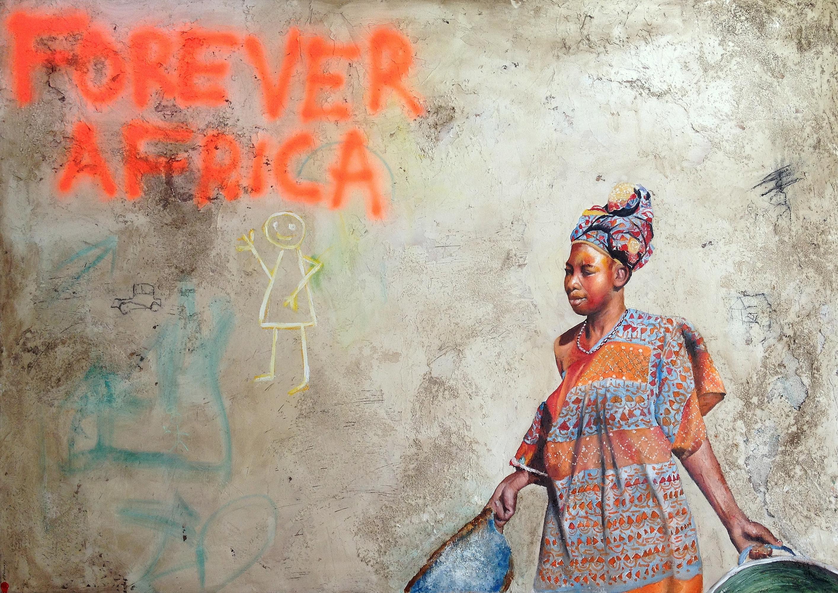 AFRICA 4 / 230x166cm