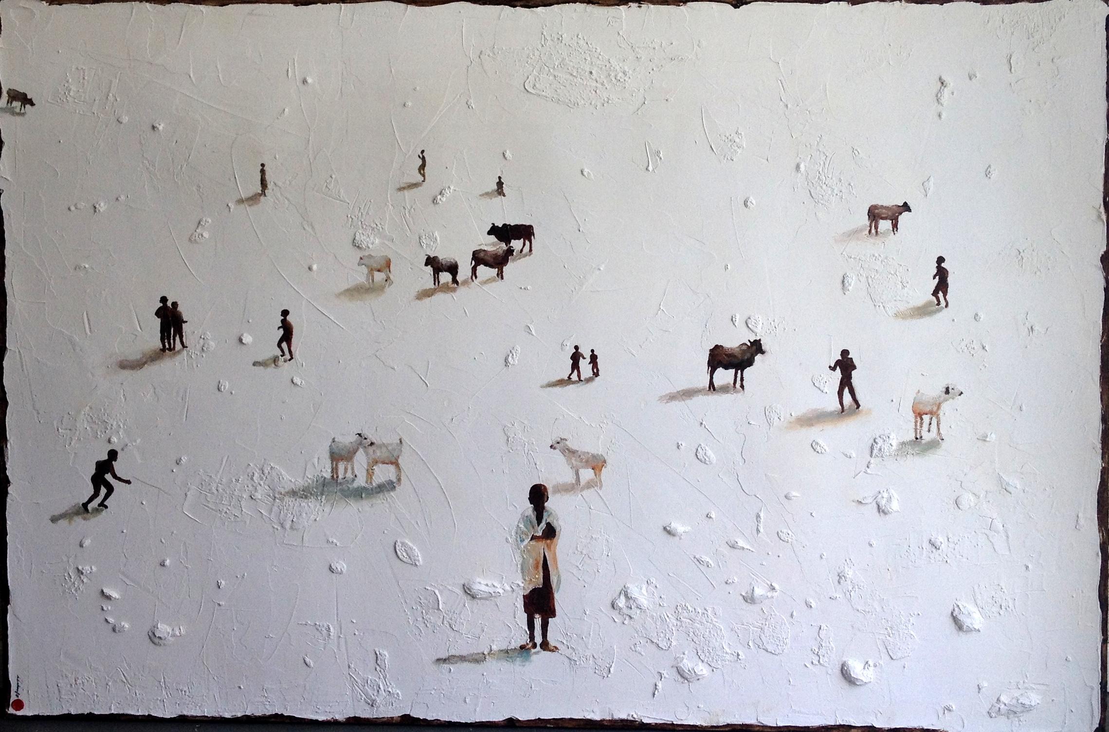 AFRICA REBIS / 227x150cm