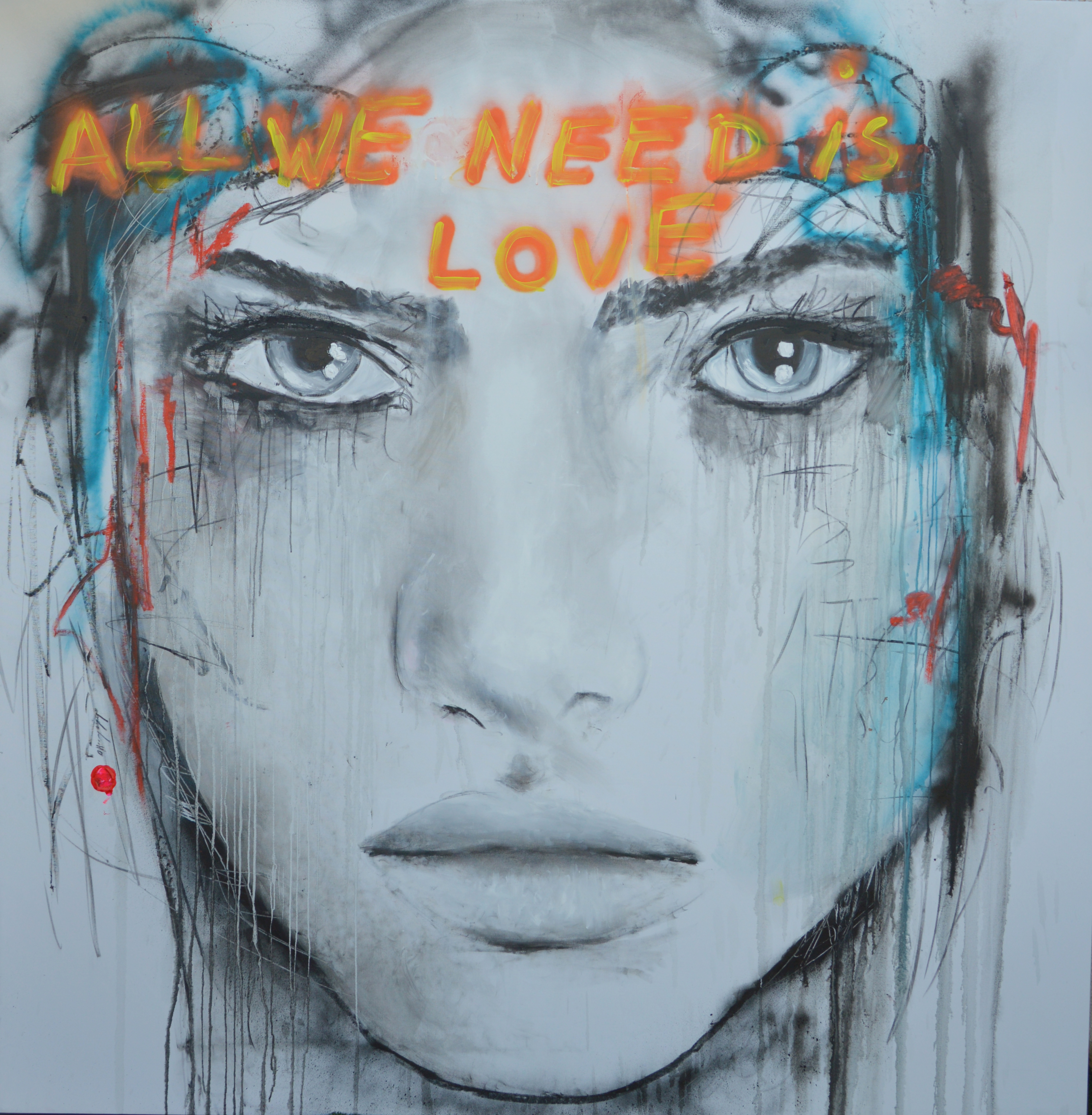 ALL YOU NEED IS LOVE / 207X210cm